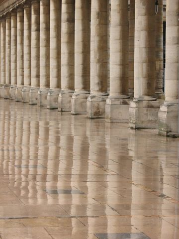 And a few older columns at the Palais Royal