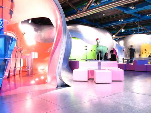 Une première impression du restaurant au sommet du Centre Pompidou