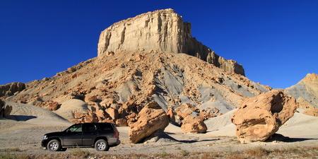 Sur une piste près de Nipple Bench, Glen Canyon National Recreation Area, Utah
