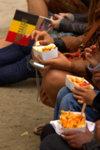 Et bien sûr le plat national : les frites !