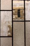 Fenêtre à l'intérieur du musée Bozar à Bruxelles