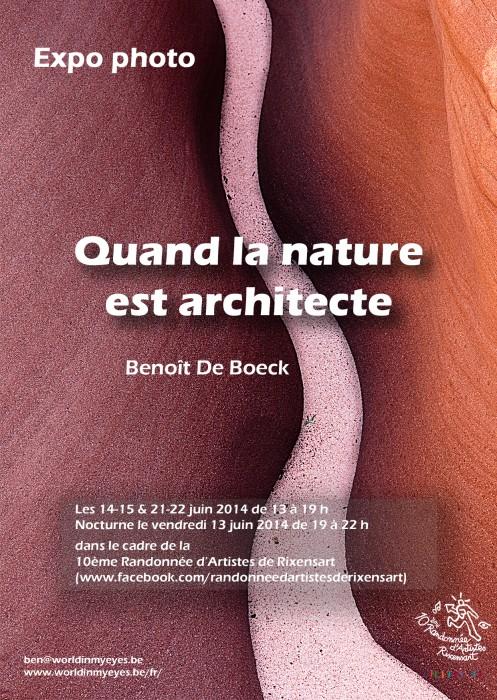 Poster Randonnée d'Artistes de Rixensart