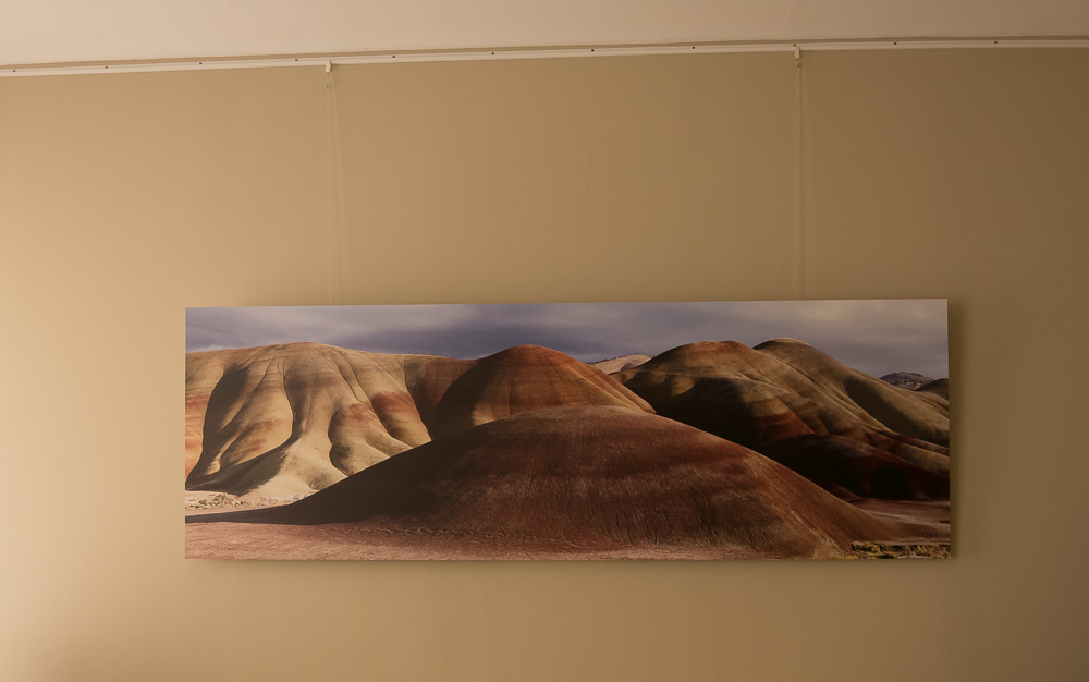 Large size direct print on Dibond (180x60 cm)