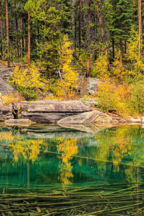 Reflection on Horseshoe Lake