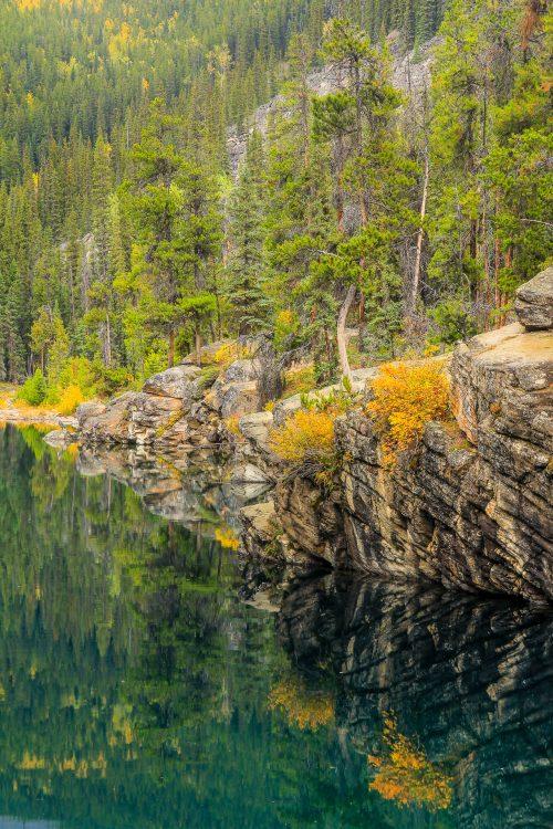 Temps pluvieux III (Horseshoe Lake, Jasper National Park, Alberta)