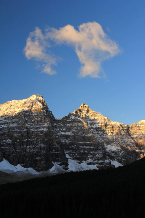 The smiling mountain