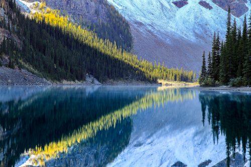 Reflection on Moraine Lake