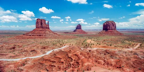 Classical view on Monument Valley