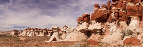 Assemblée de gnomes (Moenkopi Wash, Territoire Hopi)