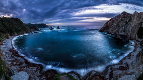 Playa del Silencio (Cantabria Coast, Spain)