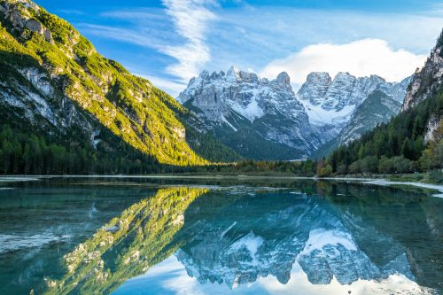 Neige d'octobre (Lago di Landro)