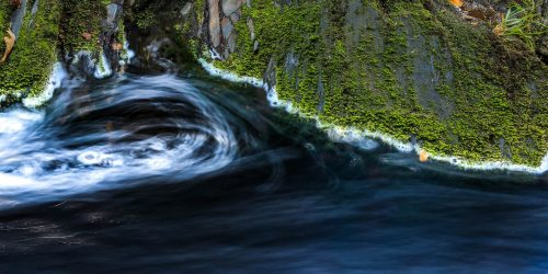 Whirlpool along the Hoegne
