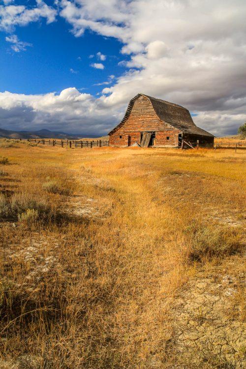Lost barn (Montana)