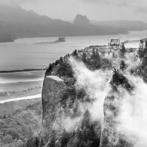 Vista House, Columbia River, Oregon