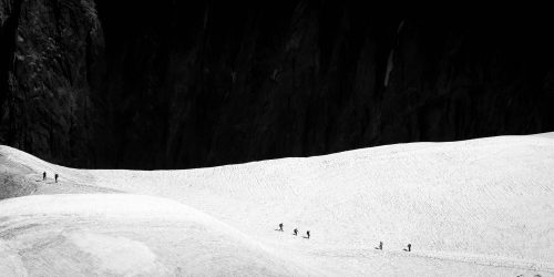 On their way to the Pic du Midi