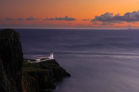Sunset at Neist Point (Skye Island)