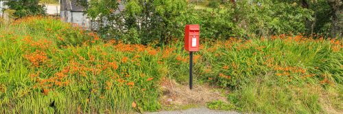 Scottish letterbox