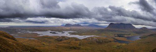 Cul Mor and Loch Sionasgaig