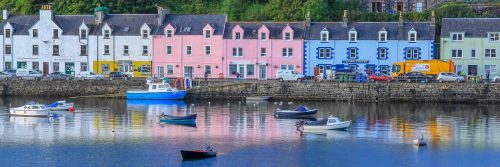 Portree harbour (Skye Island)