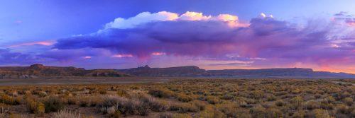 Orage au-dessus du plateau de Kaiparowits