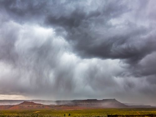 Thunderstorm near Virgin (Utah)