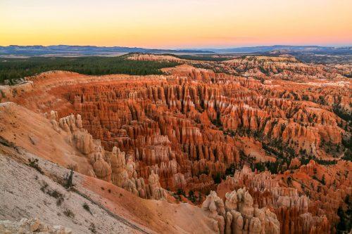 Bryce Canyon au crépuscule